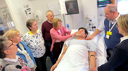 State-of-the-art mannequin for clinical simulation training