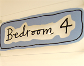 Bedroom sign in sleep centre
