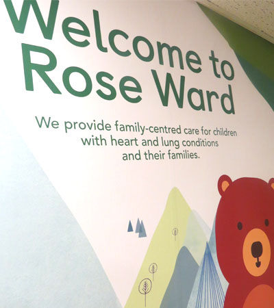 Rose ward welcome