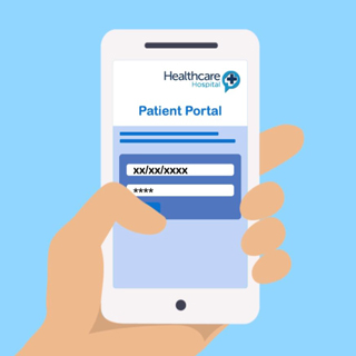 When you go through to the Healthcare portal, put in your date of birth and PIN code from the text message. This will take you through to your appointment letter.